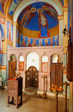 Inside of Chapel of Saint David in Tbilisi, Georgia Royalty Free Stock Images