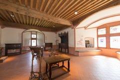 Inside the Chateau de Gruyères, Switzerland Stock Image