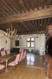 Inside the Chateau de Gruyères, Switzerland royalty free stock photos