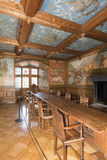 Inside the Chateau de Gruyères, Switzerland Royalty Free Stock Image