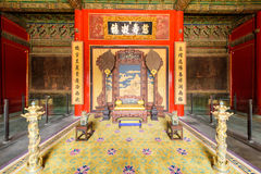Inside a Chinese palace Royalty Free Stock Image