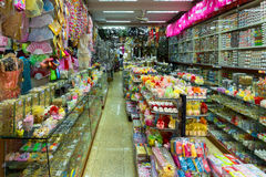 Inside a Chinese store Stock Photo