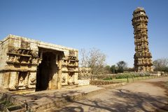 Inside the Chittorgarh fort aera Royalty Free Stock Image