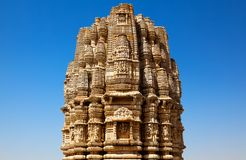 Inside the Chittorgarh fort aera Royalty Free Stock Photography
