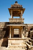 Inside the Chittorgarh fort aera Stock Photo