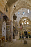 Inside of the chuch in Monastery of The Holy Cro Stock Photography
