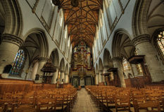 Inside church Royalty Free Stock Photo