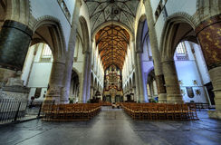 Inside church Royalty Free Stock Images