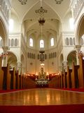 Inside of church. Inside of a canadian church Royalty Free Stock Images