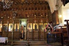 Inside church Stock Photo