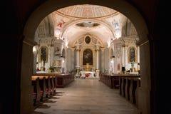 Inside church Stock Photos