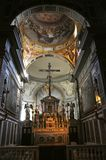 Inside of a church, Italy royalty free stock photos