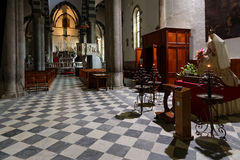 Inside the church of Manarola Royalty Free Stock Photos