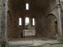 Inside the Church at Oradour Sur Glane France Stock Photo