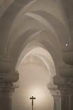 Inside the church of Otranto Royalty Free Stock Photos