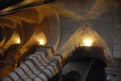 Inside the church of san Lorenzo in Verona Stock Photos