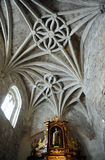 Inside of the church of San Pedro, Ciudad Real, Spain Royalty Free Stock Photo