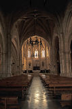 Inside of the church of San Pedro, Ciudad Real, Spain Royalty Free Stock Photography