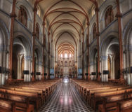 Inside a Church in Vietnam Royalty Free Stock Photo