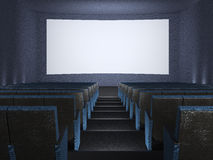 Inside of the cinema. Stock Photo