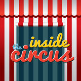 Inside The Circus Royalty Free Stock Photo