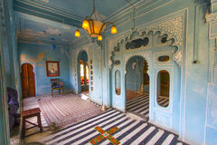 Inside the City Palace  in Udaipur Stock Image