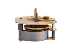 Inside the clock (clockworks) Royalty Free Stock Images
