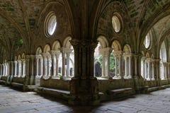 Inside the cloister Stock Photos