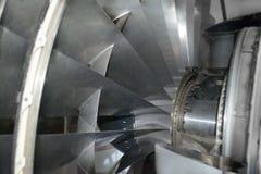 Jet engine inside Royalty Free Stock Photography