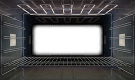 Inside The Closed Oven Royalty Free Stock Images