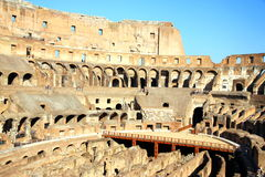 Inside the Coliseum Stock Images