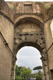 Inside the Coliseum, Rome, Lazio, Italy. Stock Images