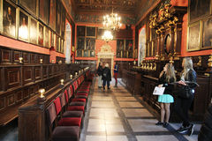 Inside collegium maius Stock Photos