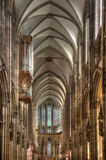 Inside Cologne Cathedral Royalty Free Stock Photos