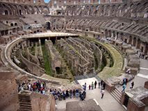 Inside the Colosseum - 3 Stock Images