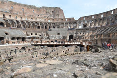Inside the Colosseum Royalty Free Stock Image