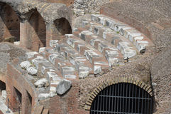 Inside the Colosseum Royalty Free Stock Photos