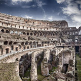 Inside Colosseum Stock Photo