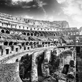 Inside Colosseum Stock Photos