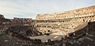 Inside the colosseum Stock Images