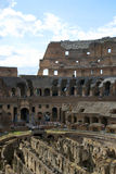 Inside of the colosseum - Rome Stock Photography