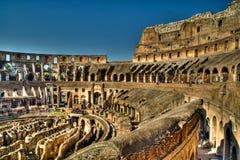 Inside the colosseum, Rome Stock Image