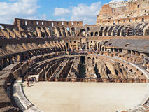 Inside the Colosseum, Rome, Italy Stock Photos
