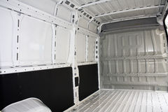 Inside commercial van Stock Image