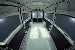 Inside commercial van Royalty Free Stock Photography