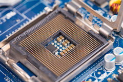 Inside the computer Stock Image
