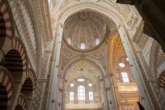 Inside cordoba meczet Fotografia Stock