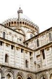 Inside Corner of Ancient Church in Pisa Stock Image