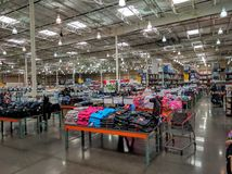 Inside Costco store Royalty Free Stock Photography