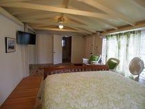 Inside Cottage Bedroom Stock Image
